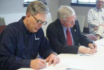 SHELBYVILLE CITY COUNCIL – City signs pipeline contract